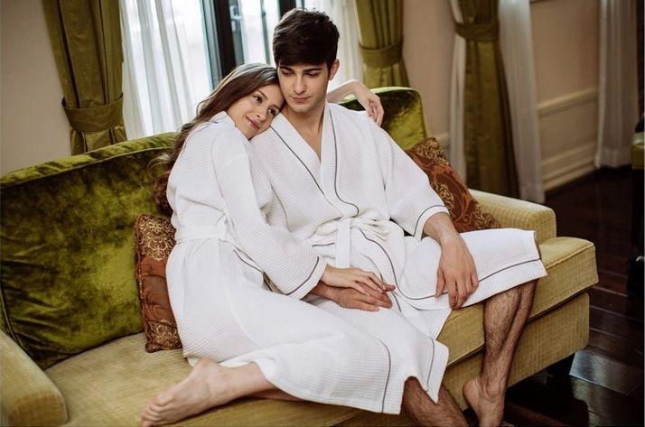 Women\'s Mid-Calf Cotton Sleep Lounge Robes RBS-D RB26 3