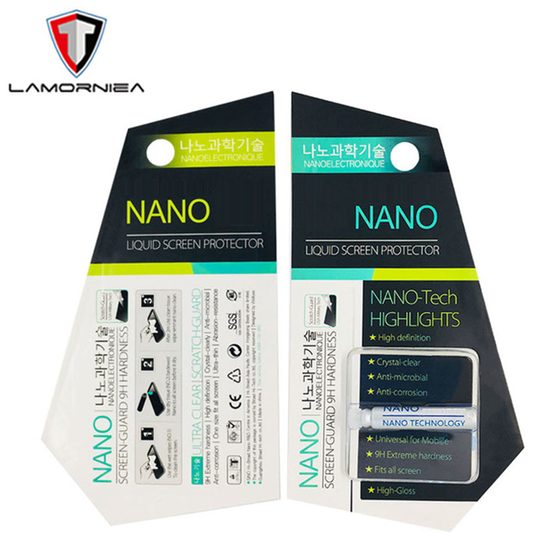 Liquid-Screen-Protector Tempered-Glass Technology NANO Huawei P30 iPhone X for XS 7/8/6-5