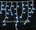 180 LED 6 M luzes da cortina Levou luzes icicle lâmpadas com plug cauda Sincelo Luzes Wedding Party Xmas Decoração-4 Cores opcional