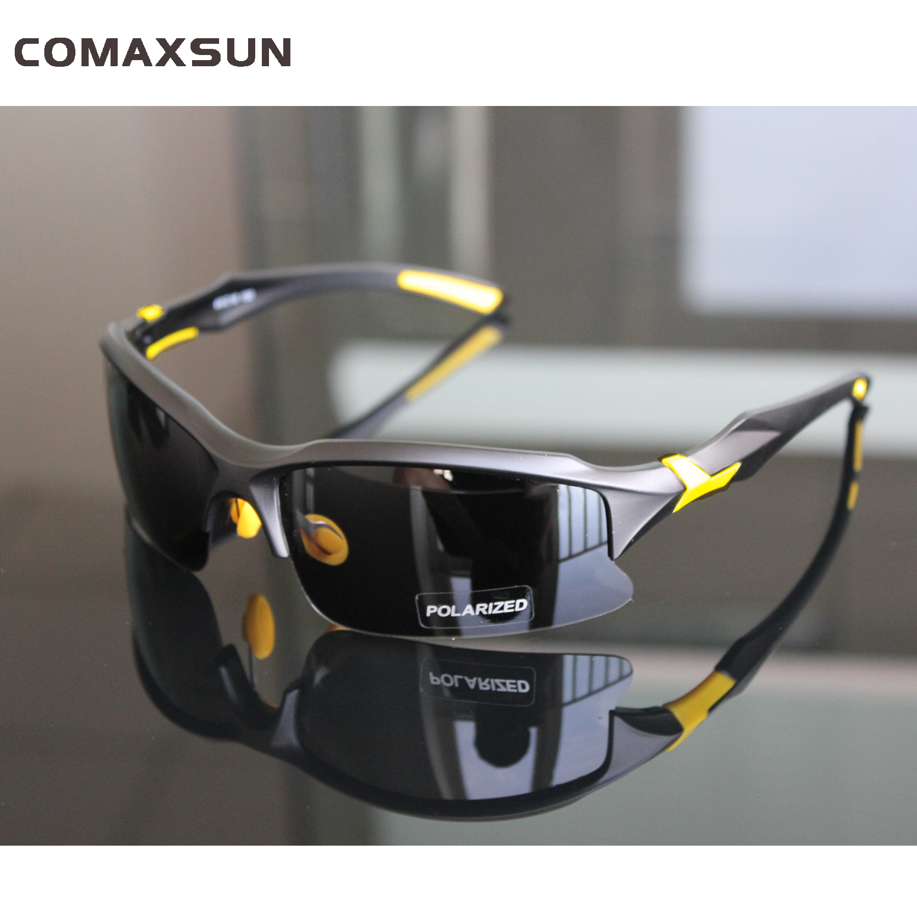 comaxsun Professional Polarized Cycling Glasses Bike Bicycle Goggles Outdoor Sports