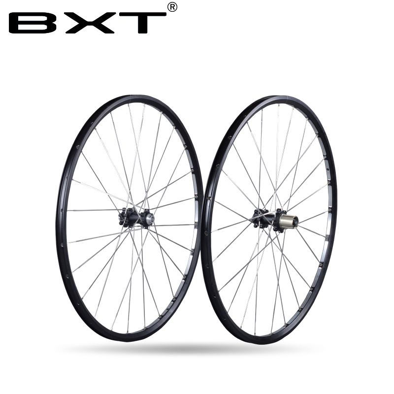 2017 Chinese BXT New no carbon Mountain bicycle Wheels 27.5er/29er Ultralight Alloy AXLE EXhange OPEN MTB Bike Wheels bike parts orient es00001w