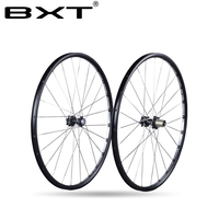 2017 Chinese BXT New no carbon Mountain bicycle Wheels 27.5er/29er Ultralight Alloy AXLE EXhange OPEN MTB Bike Wheels bike parts
