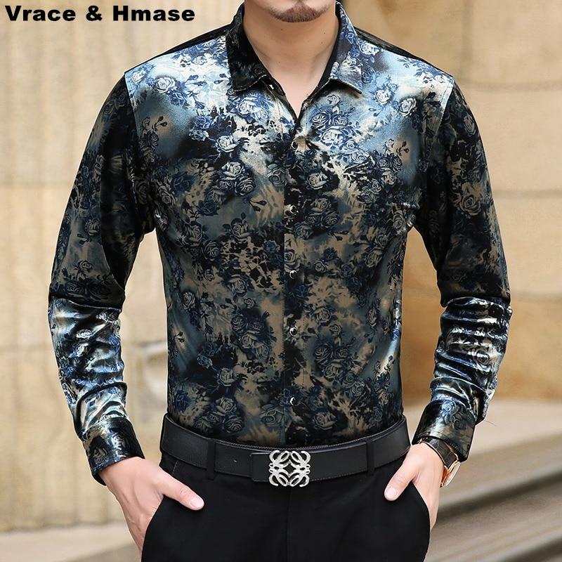 Business casual high end gold velvet mercerized cotton for High end men s dress shirts