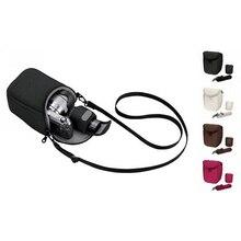 המצלמה כיסוי Case תיק עבור Sony LCS BBF NEX3C NEX5C NEX5N NEX F3 NEX7 האדום אפור שחור לבן צבע משלוח חינם