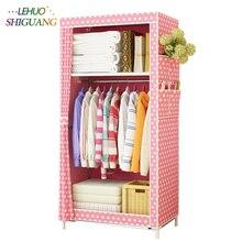 Шкаф для общежития из нетканого материала, небольшой органайзер для хранения одежды, съемный шкаф для одежды, мебель для маленькой спальни