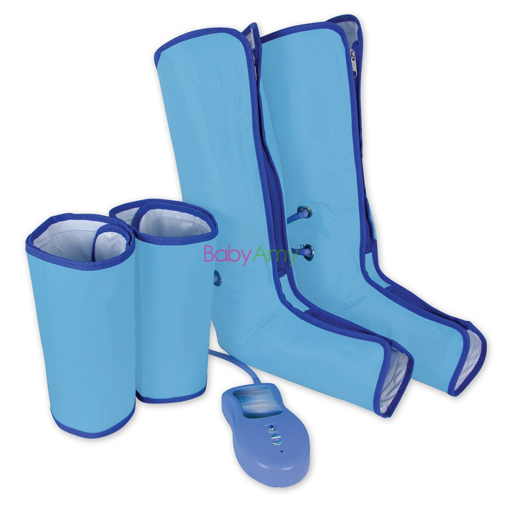 Air Compression Leg Wraps Regular Massager Foot Ankles Calf Therapy Circulation Healthcare Compression Left Right Leg
