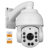 4 Inch 960P HD AHD PTZ Speed Dome CCTV Camera 20X Zoom Array IR 80m