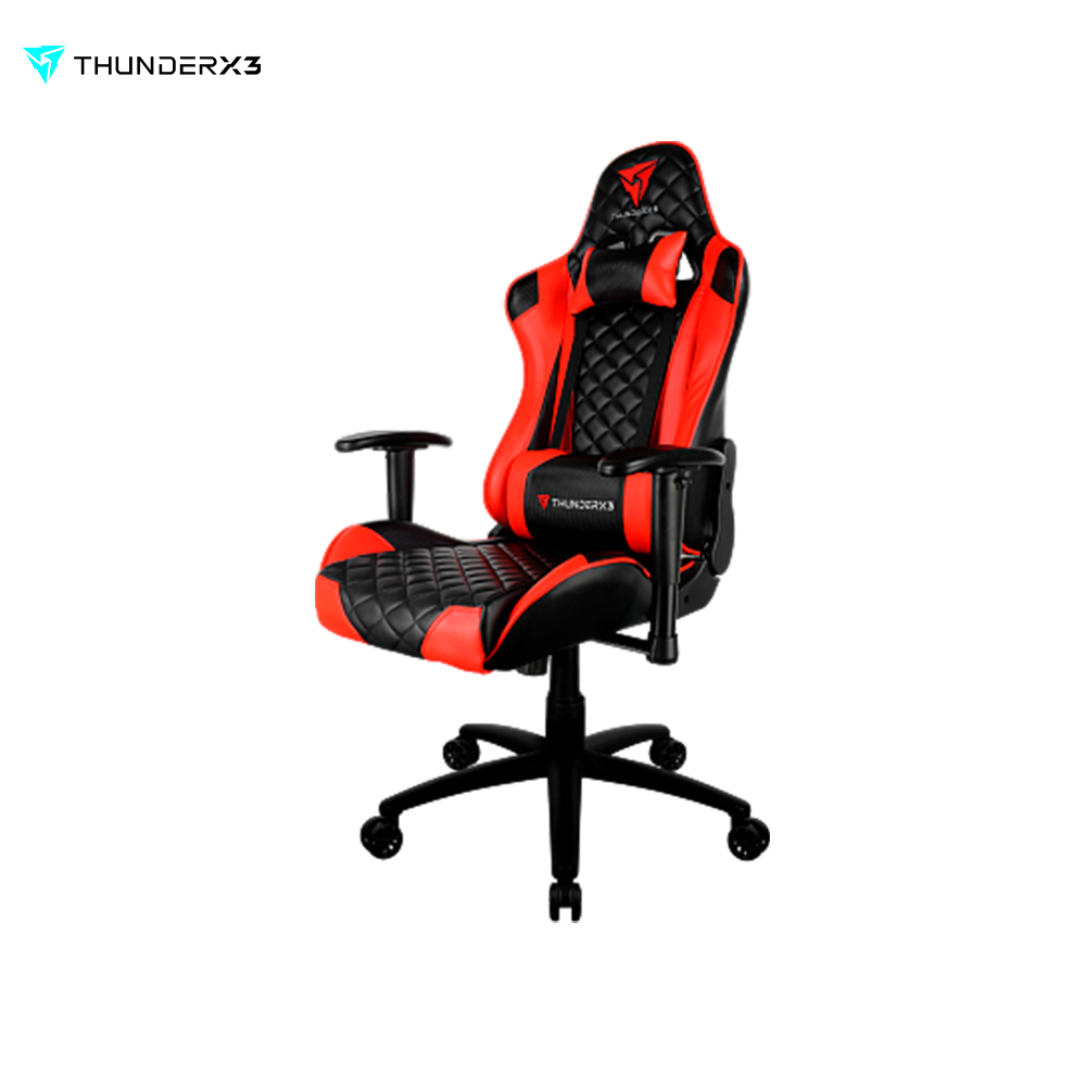 Gaming chair TGC12-Black-Red test alligator clips crocodile clamp red black size l 5 pairs