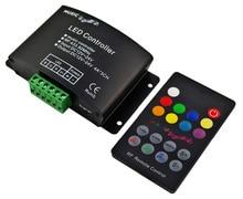 RF 18 Teclas Led Música Controlador de Tira del RGB Led RF de Audio controlador RF Controlador de Luz Led Controlador de la Música RGB Led de Sonido DC12-24