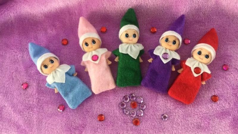 цена на 2018 Elf Baby Plush Toy Baby Elf Plush Dolls Boy Girl Figure Decoration Toys Christmas Xmas Toy Dolls
