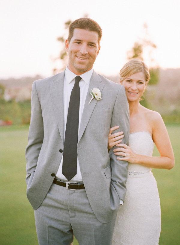 2 Pieces Custom Made Light Gray Tailcoat Men Suit Set Slim Wedding ...