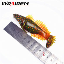 1Pcs 10cm 20g Popular Soft Fishing Lure Soft Bait Swimbaits Jig Head Soft Lure Fly Fishing Bait Plastic Artificial Lure YR-447