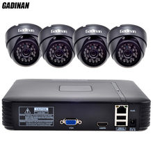 GADINAN 1080 P ONVIF NVR Sistema Kit 4 unids 960 P SC1135 0.001LUX Cámara IP HD Home Kit de Vigilancia de Seguridad CCTV Red NVR sistema