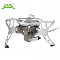 BRS 15 Portable Windproof Big Power Split Type Outdoor Camping Picnic Cooker Gas Stove Auto Ignition