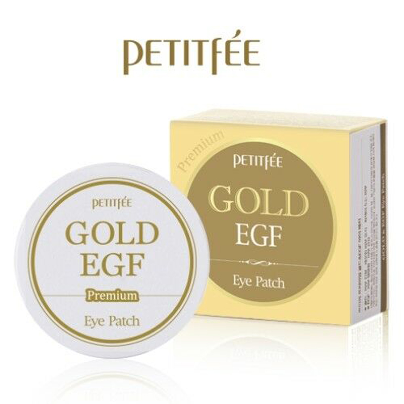PETITFEE Premium Gold & EGF Eye Patch 60pcs Gold Collagen Eye Mask Dark Circles Remove Eye Care Anti-Wrinkle Korea Cosmetics