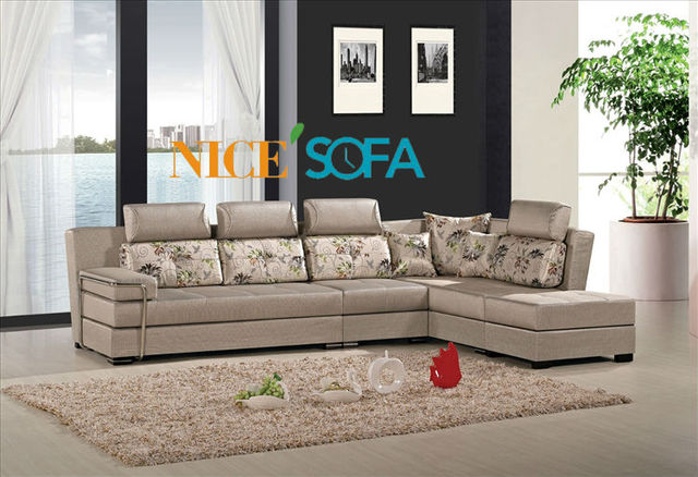 Hot Sale Fabric Sofa Latest Leisure Design Sofa 1210b In Living
