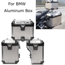 For R1200GS ADV LC R1250GS/ADV 2014-2019 Motorcycle Tail Case Trunk Saddlebag Top Box Stainless Steel Orignal Style