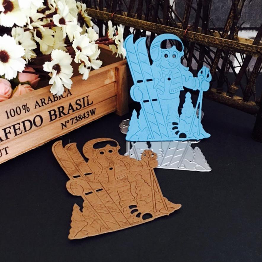 Cutting Dies 2017 My House Christmas Carbon steel Metal Dies Stencils DIY Scrapbooking Paper Decoratio Card Gift 17NOV9