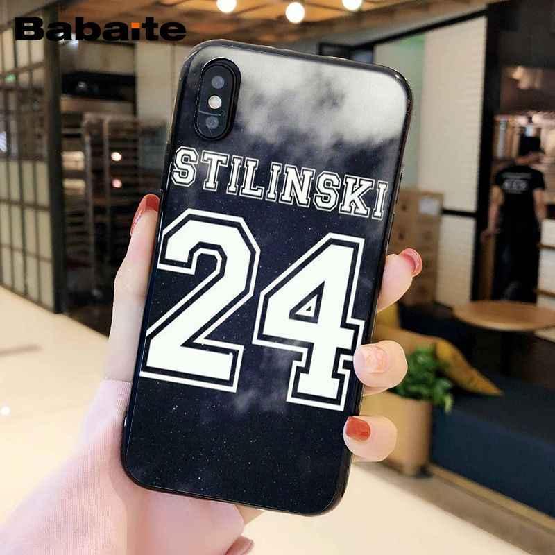 Babaite Stilinski 24 التين وولف كوكه قذيفة الهاتف حقيبة لهاتف أي فون X XS ماكس 6 6S 7 7 زائد 8 8 زائد 5 5S XR
