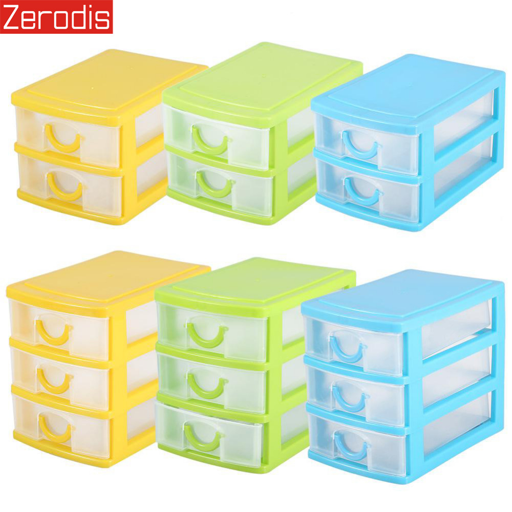 Plastic Container Bracelets Storage-Case Drawer-Organizer Jewellery-Boxes Earrings Makeup