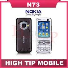 Rénové N73 origine Nokia N73 GSM 3 G FM MP3 Bluetooth 3.15MP débloqué Mobile Phone livraison gratuite un en Stock