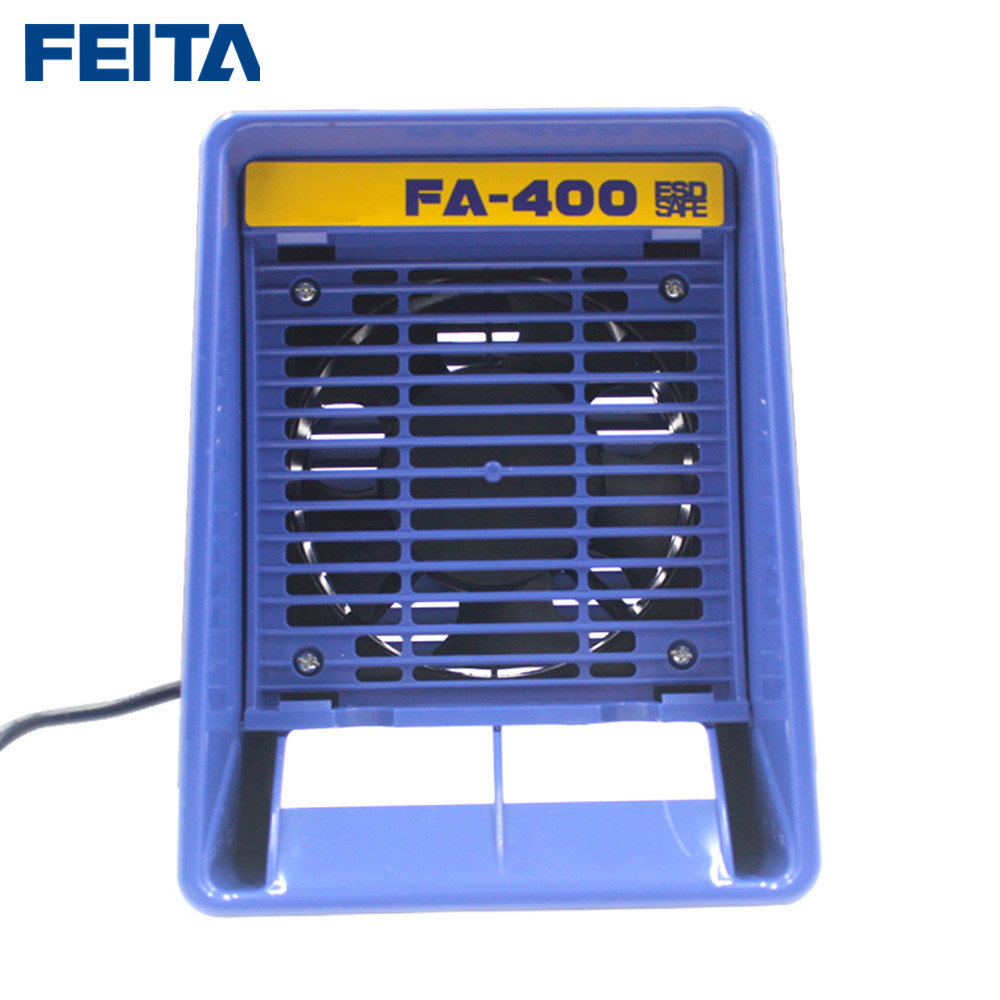 Carbon Filter FA Smoking Free Instrument With Fume Extractor 400 Smoke Solder ESD 6pcs Sponge 220v FEITA Activated Ac Absorber