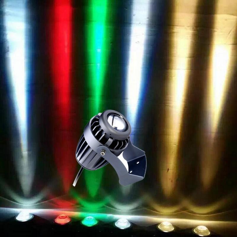 10 Вт CREE светодиодный луч света стрелять свет Сильный без конденсации лампы дистанционного Лампа AC85V-265V водонепроницаемый открытый свет лам...