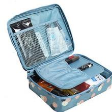 JIARUO, женская сумка для макияжа, женская косметичка, моющаяся косметичка, органайзер для макияжа, сумка для хранения, сумка для дорожного набора, женская косметичка, косметичка