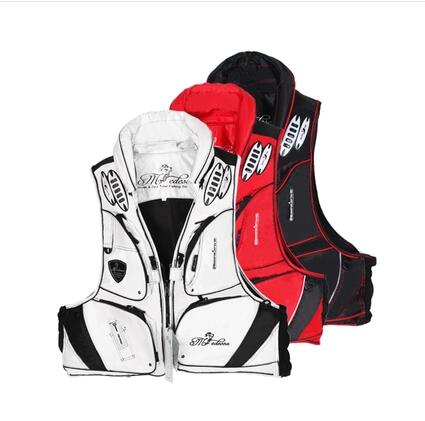 Best Quality fishing vest 100% polyamides life jacket fishing vest life vest whistle size M F XXXL free shipping