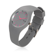 Women Silicone Band Sport Watch Fashion Brand MILER Colorful Quartz Bracelets Watches Relogio Feminino