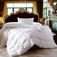 FangHua Weiße Gans/Ente Daunendecken Winter Quilt Hochwertigen Tröster 100% Baumwolle Abdeckung Tagesdecken König Königin Twin Voll größe