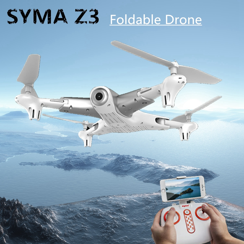 цена на Syma Z3 RC Quadcopter FPV Drone with HD Wifi Camera Real-time Altitude Hold Optical Positioning Flow drone vs x5c x8pro xs809