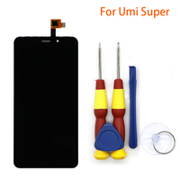 New Original Touch Screen LCD Display LCD Screen For UMI Super Replacement Parts Disassemble Tool Glue