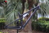 LEADXUS CV400 2019 Newest 29er Suspension Bicycle Carbon Frame 29 Inch Suspension Bike Frame Size 15.5/17.5/19