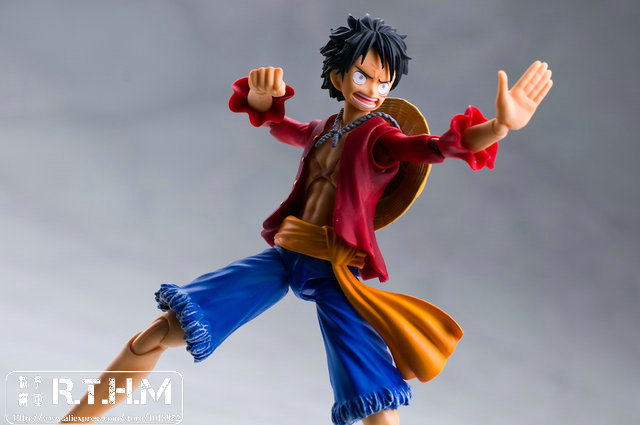 One Piece VAH Variable Action Heroes ONE PIECE Monkey D Luffy Action Figure toys kids anime toys for children