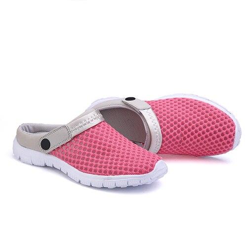 pink D'été Plat Mode Blue Chaussures rose Casual Loisirs Creux Red Hommes Sandales Maille Plage Pantoufles La À Nouveaux xZtwPpq6I