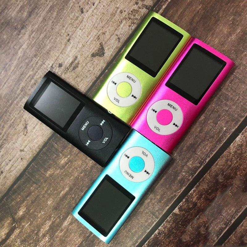 Mplsbo Mp3 Musik Player Fm Radio Lautsprecher Mp3 Sport-player Digital Led Lcd Screen Unterstützung Sd/tf Karte Walkman Mit Kopfhörer Tragbares Audio & Video