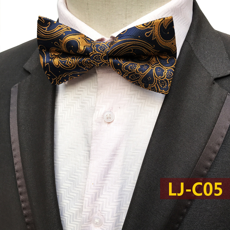 Men/'s Bowtie Black with White Polka Dots Bow Ties Formal Grooms Self-tied Tie