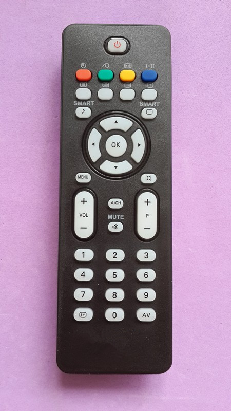 philips tv remote input button. replacement remote control for philips tv,led, lcd pflrc 2023601 philips tv remote input button