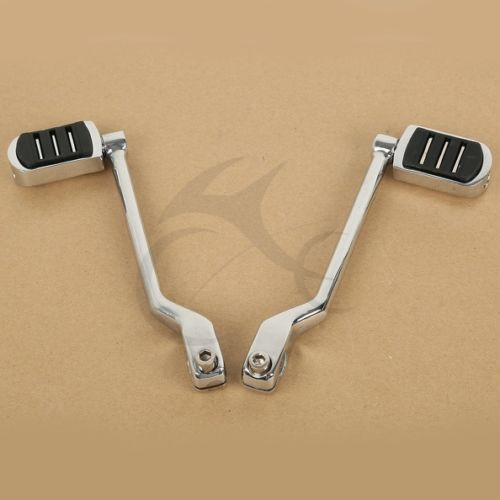 Front & Rear Gear Shift Shifter Lever Pedal For Harley Touring FL Softail Trike tcmt motorcycle left front rear shift lever w shifter peg for harley touring fl softail trike new