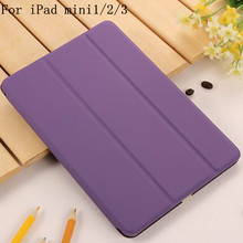 YWEWBJH Case for iPad mini 1 2 3  PU Leather Smart Auto Sleep Wake Ultra Slim Tablet 1/2/3