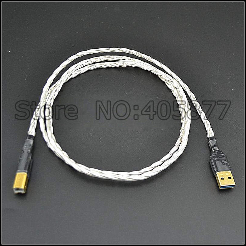 Hi End Audio Audiophile Usb Dac Cable A To B Usb Audio
