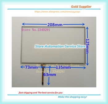 New 9 Inch AT090TN12 Touch Screen Is Suitable For Vehicle DVD Navigation Control Board H090IDW1 Touch Screen