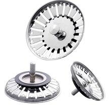 Высокое качество 84 мм фильтр для раковины ванной комнаты 304 Нержавеющая сталь Пробка для воды раковина фильтр для воды вилка аксессуары для кухонной раковины