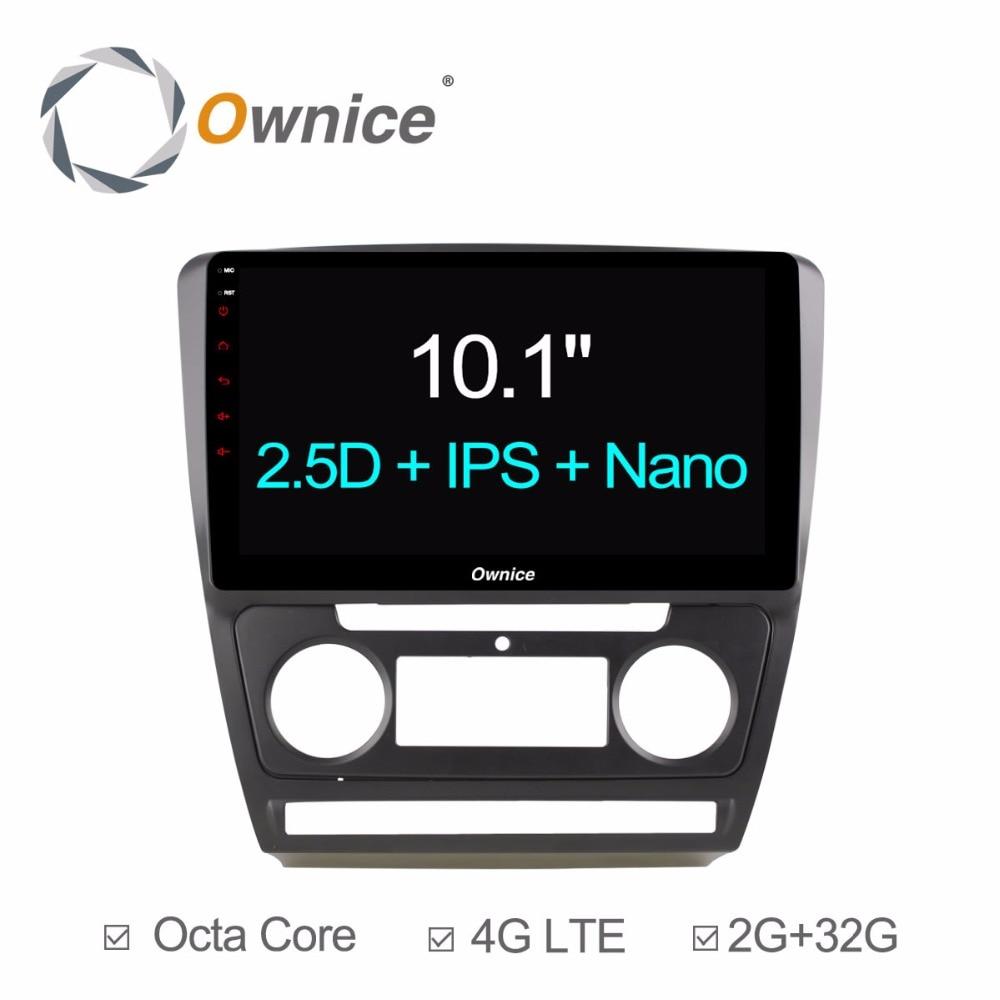 10 1 android 6 0 car dvd player for skoda octavia 2007. Black Bedroom Furniture Sets. Home Design Ideas