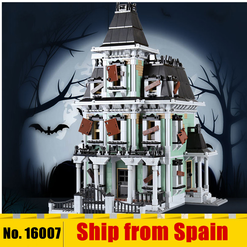 16007 Monster fighter movie The 10228 Kid Toys haunted house Model set Building Bricks Blocks Kits