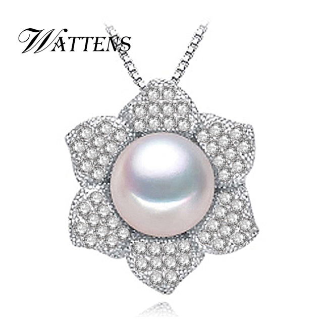 Wattens new flower pearl necklaces pendants pearl jewelry wattens new flower pearl necklaces pendants pearl jewelry halloween christmas gift bohemian vintage necklace women aloadofball Gallery