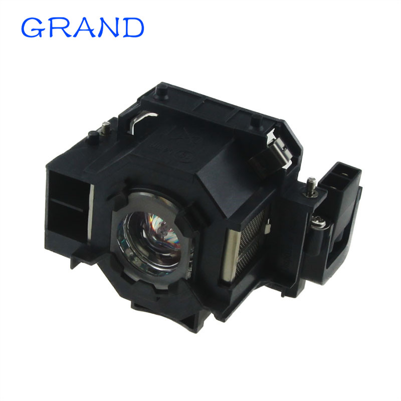 ELPLP42 Replacement Projector Lamp with Housing For EPSON EMP-400W EB-410W EB-140w EMP-83H Powerlight 822 H330B HAPPY BATE elplp38 v13h010l38 high quality projector lamp with housing for epson emp 1700 emp 1705 emp 1707 emp 1710 emp 1715 emp 1717