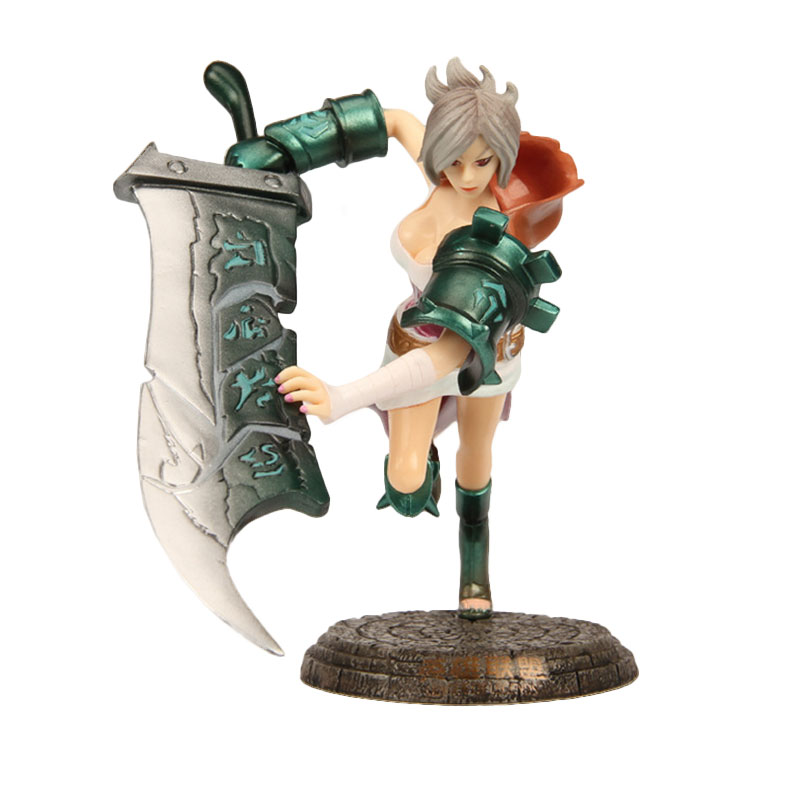 LOL Riven The Exile League of Legends Best Raven NA Action Figure Doll Toys Gifts Furnishings Kids