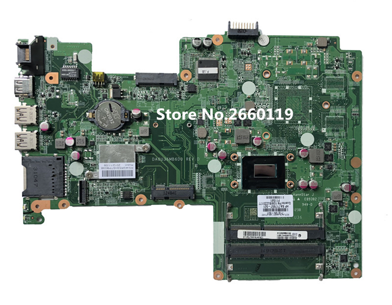 Laptop motherboard for 15 15T 15-B DA0U36MB6D0 712795-001 712795-501 701691-501 mainboard Fully testedLaptop motherboard for 15 15T 15-B DA0U36MB6D0 712795-001 712795-501 701691-501 mainboard Fully tested